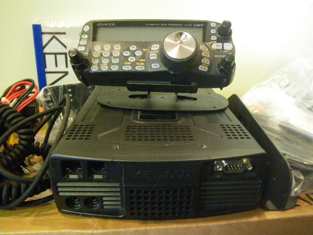 KENWOOD TS-480 SAT 100WATT ALL MODE TRANSCEIVER