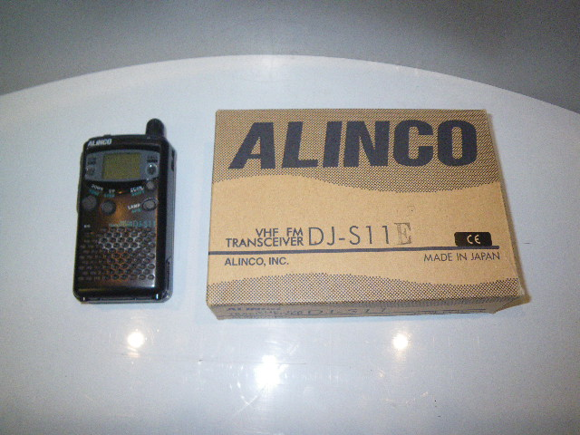 Alinco DJ-S11 Handheld transceiver VHF and FM