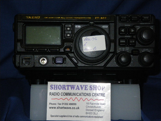 Yaesu FT-897 All Mode Amateur Radio Transceiver