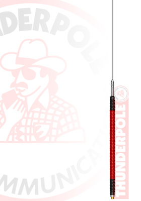Thunderpole Red Devil CB Radio Antenna