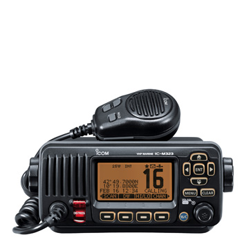 Icom IC-M323 Mounted VHF/DSC Marine Radio